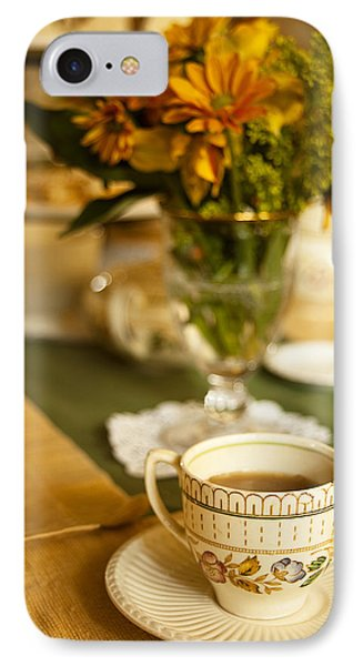 Afternoon Tea Time IPhone Case