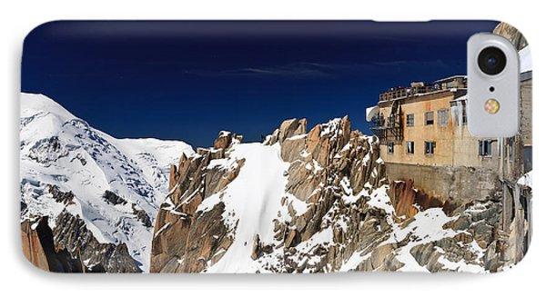 Aiguille Du Midi -  Mont Blanc Massif IPhone Case