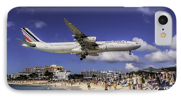 Air France St. Maarten Landing IPhone Case