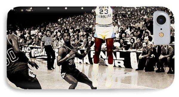 Air Jordan Unc Last Shot IPhone Case