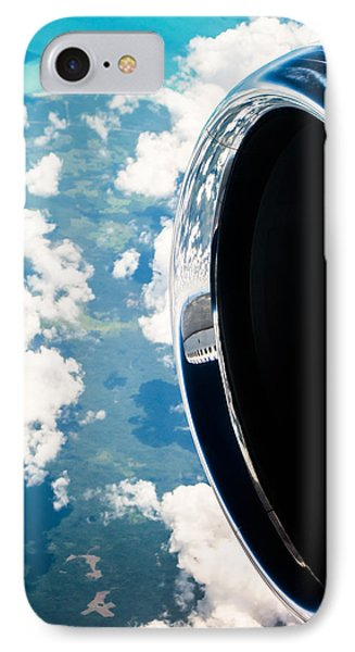 Jet iPhone 8 Case - Tropical Skies by Parker Cunningham