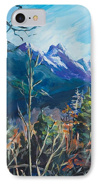Alaska Autumn IPhone Case