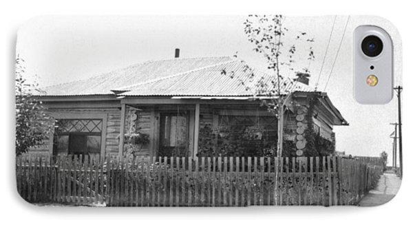 Alaska Log Cabin IPhone Case