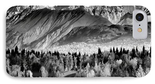 Alaskan Mountains IPhone Case