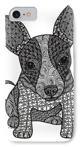 Alert - Chihuahua IPhone Case