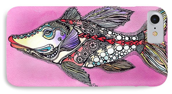 Alexandria The Fish IPhone Case