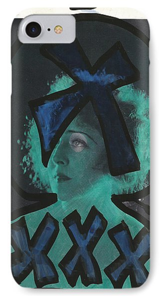 Alien Black Blue Xxxx IPhone Case