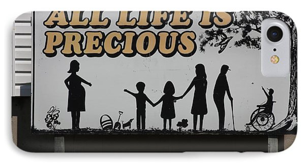 All Life Is Precious IPhone Case