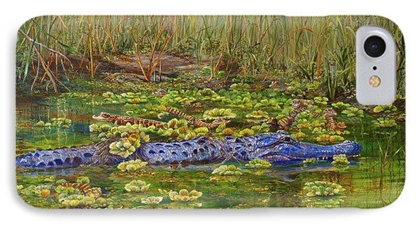 Alligator Pod IPhone Case