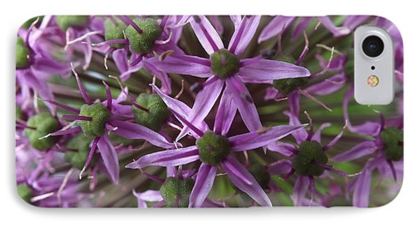 IPhone Case featuring the photograph Allium by Gene Cyr