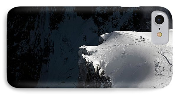 French iPhone 8 Case - Alpinists by Tristan Shu