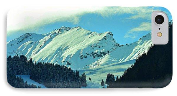 Alps Green Profile IPhone Case