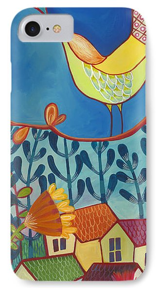 IPhone Case featuring the painting Always Kiss Me Good Night by Carla Bank