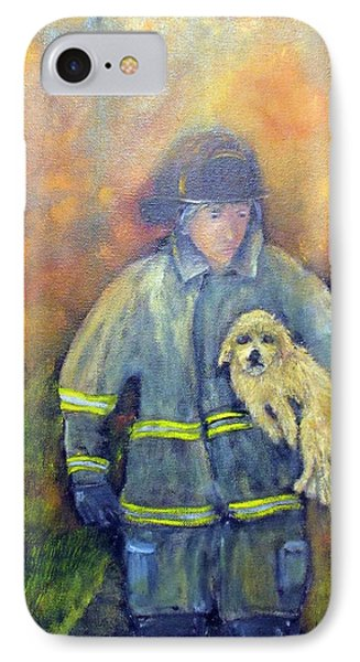 Always On Call - Fireman IPhone Case