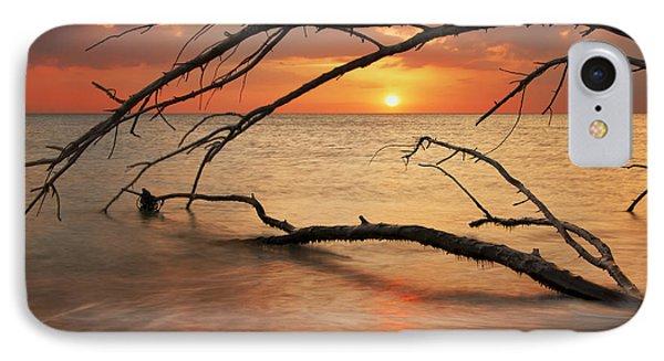 Amber Sunset IPhone Case