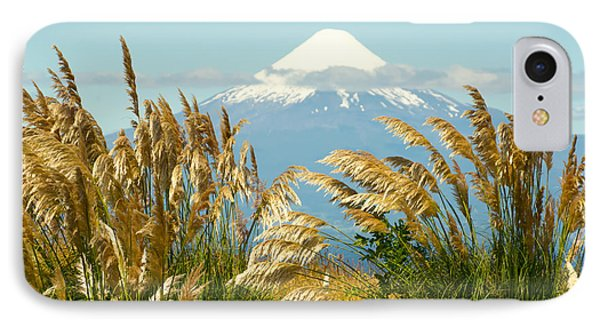 Amber Waves Of Osorno IPhone Case