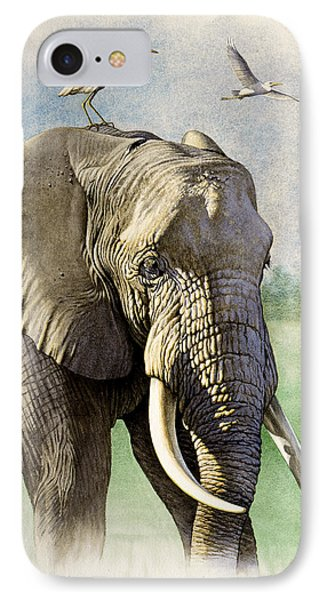 Africa iPhone 8 Case - Amboseli Morning   by Paul Krapf