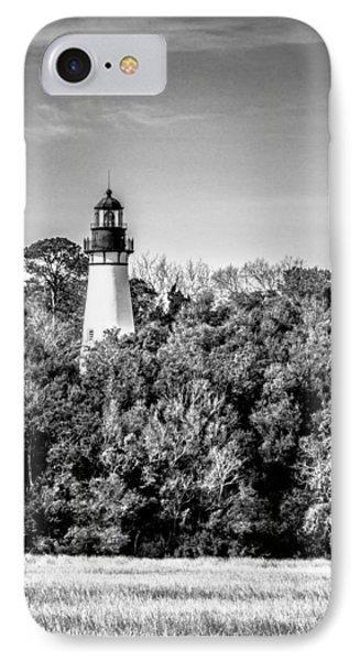 Amelia Island Lighthouse IPhone Case