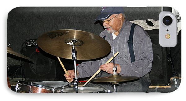 American Jazz Drummer  Mr Jimmy Cobb IPhone Case