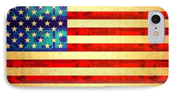 American Money Flag IPhone Case