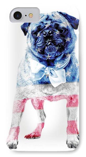 American Pug IPhone Case