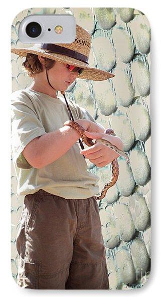 American Snake Charmer IPhone Case