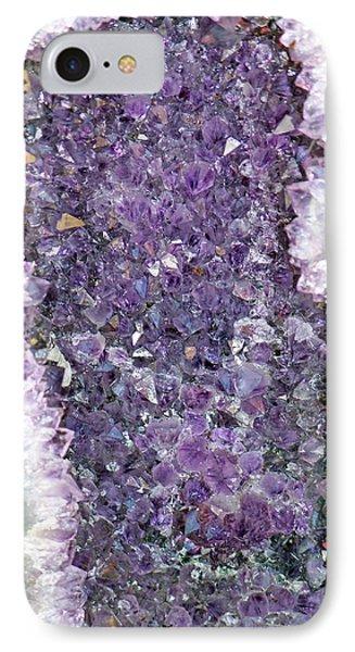 Amethyst Geode IPhone Case