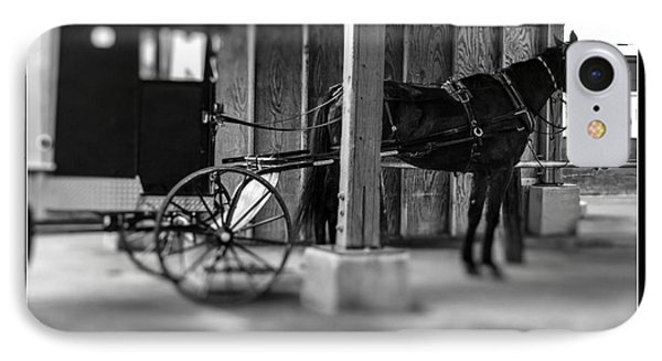Amish Buggy Parking IPhone Case