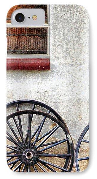 Amish Buggy Wheels IPhone Case