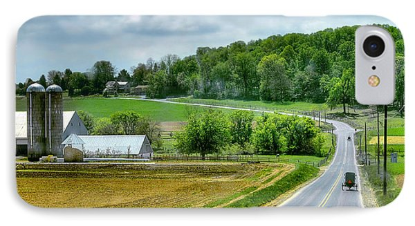 Amish Countryside IPhone Case