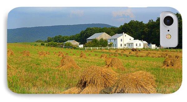 Amish Harvest #1 - Milroy Pa IPhone Case