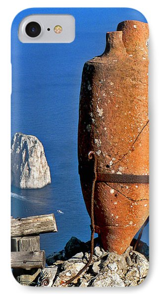 Amphora On The Island Of Capri 2 IPhone Case