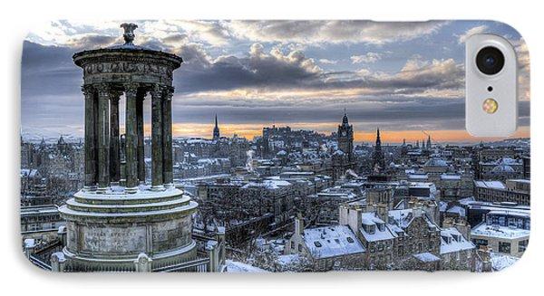 An Edinburgh Winter IPhone Case