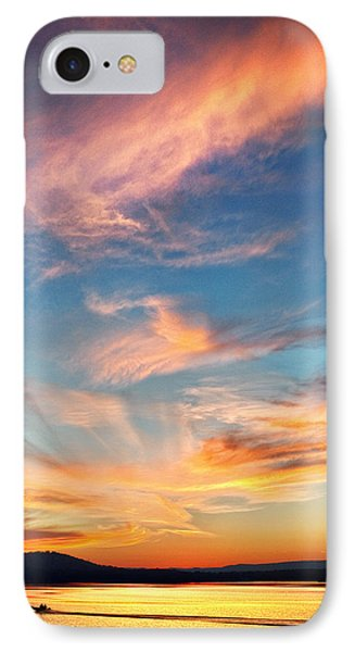 An Evening Fishing At Chester Frost IPhone Case