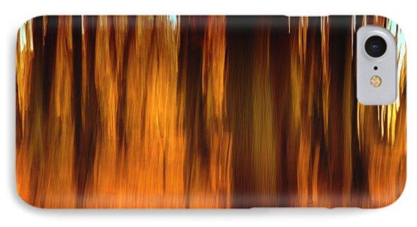 An Impressionistic In-camera Blur IPhone Case