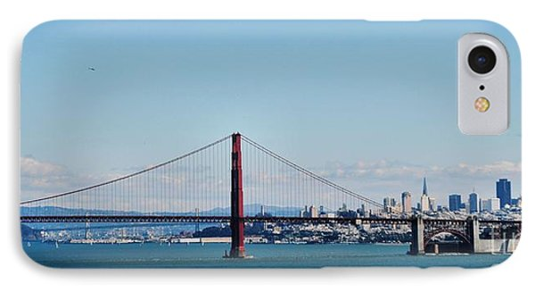 An Ocean's View Of The City IPhone Case