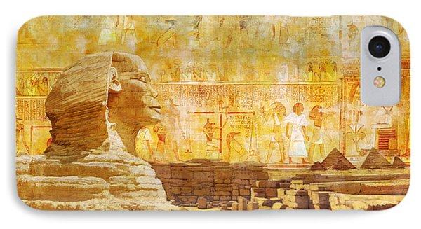 Ancient Egypt Civilization 08 IPhone Case
