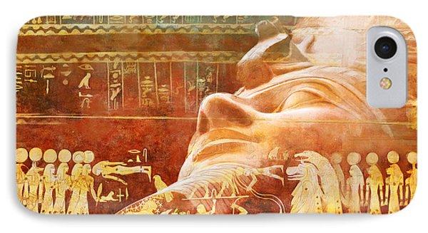 Ancient Egypt Civilization Detail 00 IPhone Case