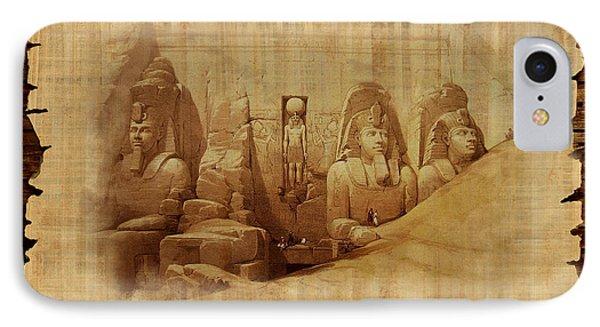 Ancient Egypt Civilization Detail 03 IPhone Case