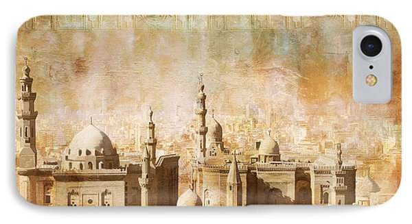 Ancient Egypt Civilization Detail 04 IPhone Case