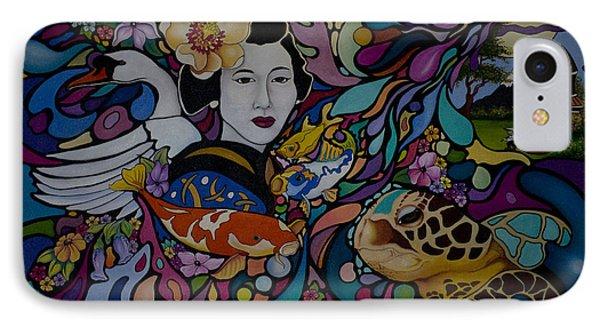 Ancient Japan IPhone Case
