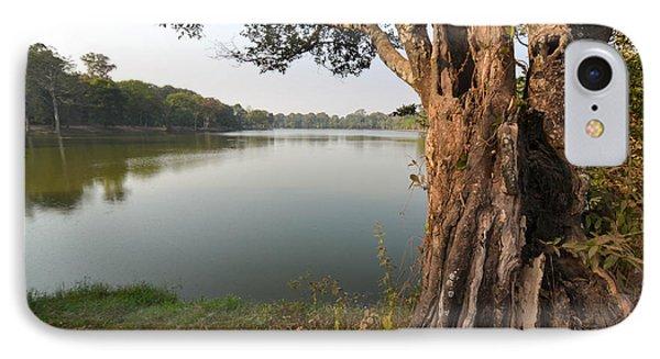 Ancient Tree Cambodia IPhone Case