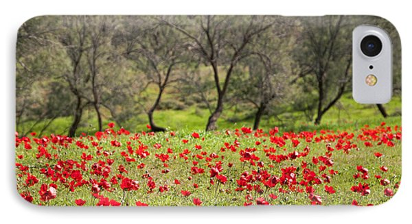 At Ruchama Forest Israel IPhone Case