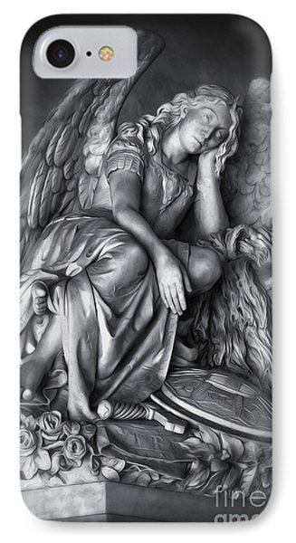 Angel And Lion IPhone Case