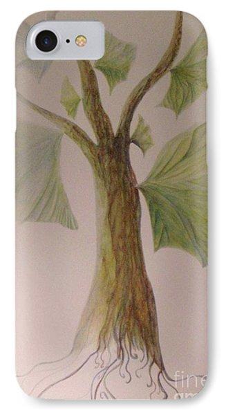 Angel Tree IPhone Case