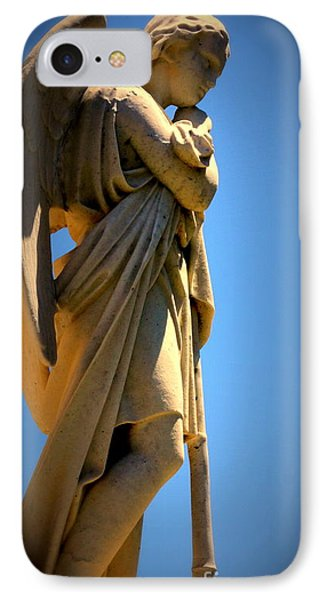 Angel Watching IPhone Case