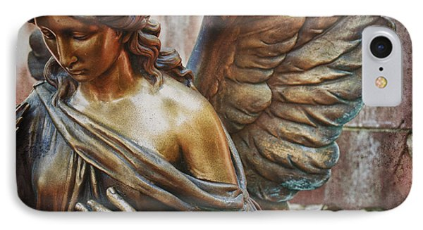 Angelic Contemplation IPhone Case
