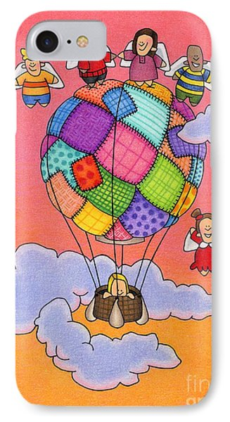 Angels With Hot Air Balloon IPhone Case