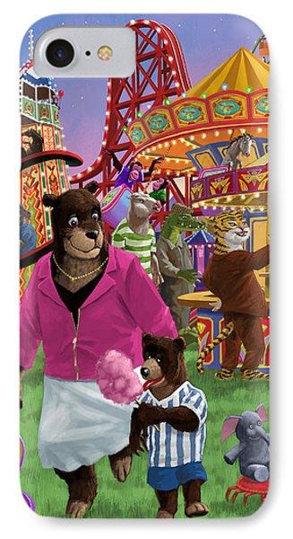 Animal Fun Fair IPhone Case