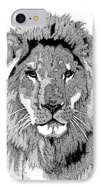 Animal Prints - Proud Lion - By Sharon Cummings IPhone Case